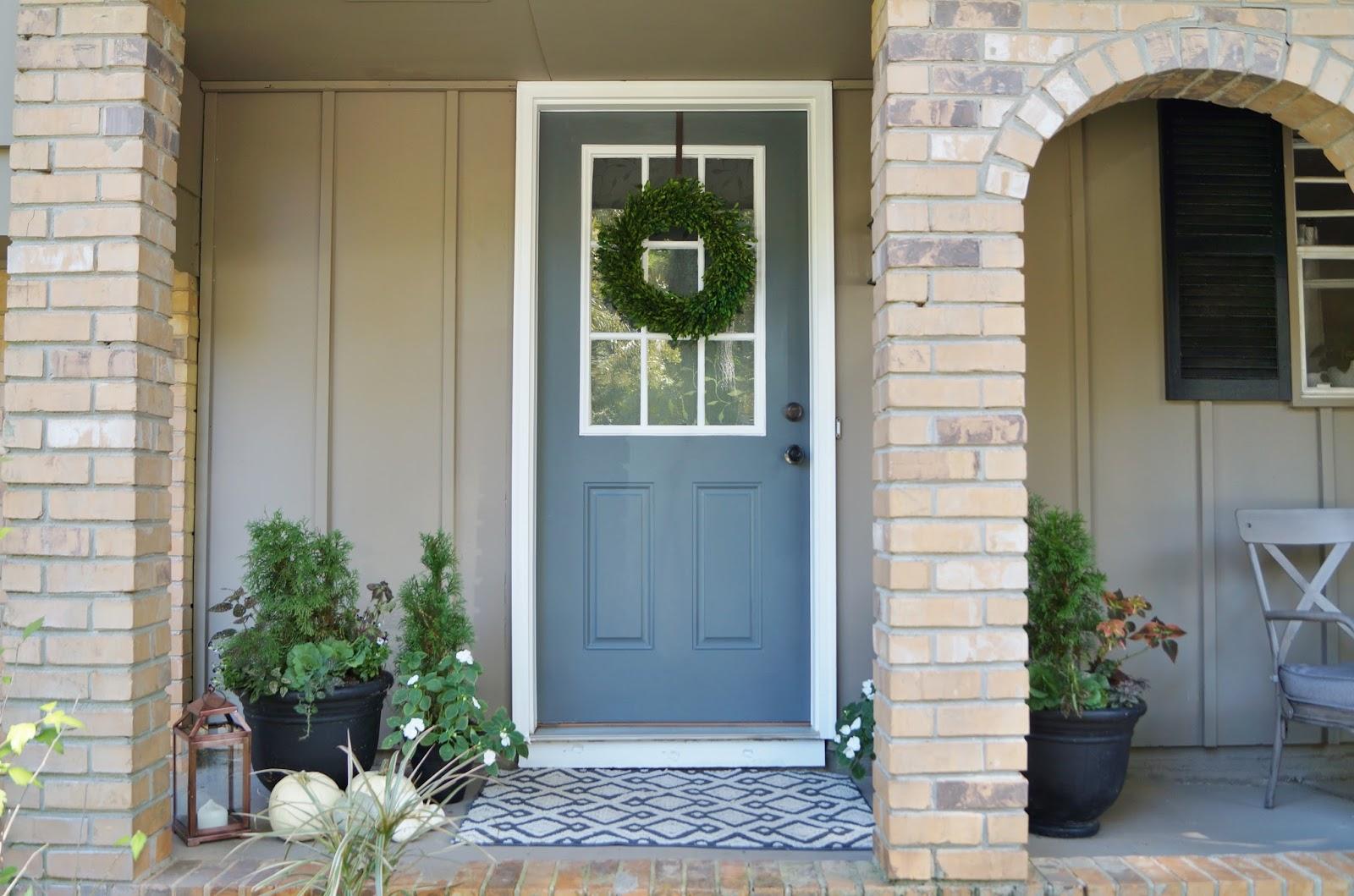 Exterior Door Colors: Don't Disturb This Groove: A New Front Door Color