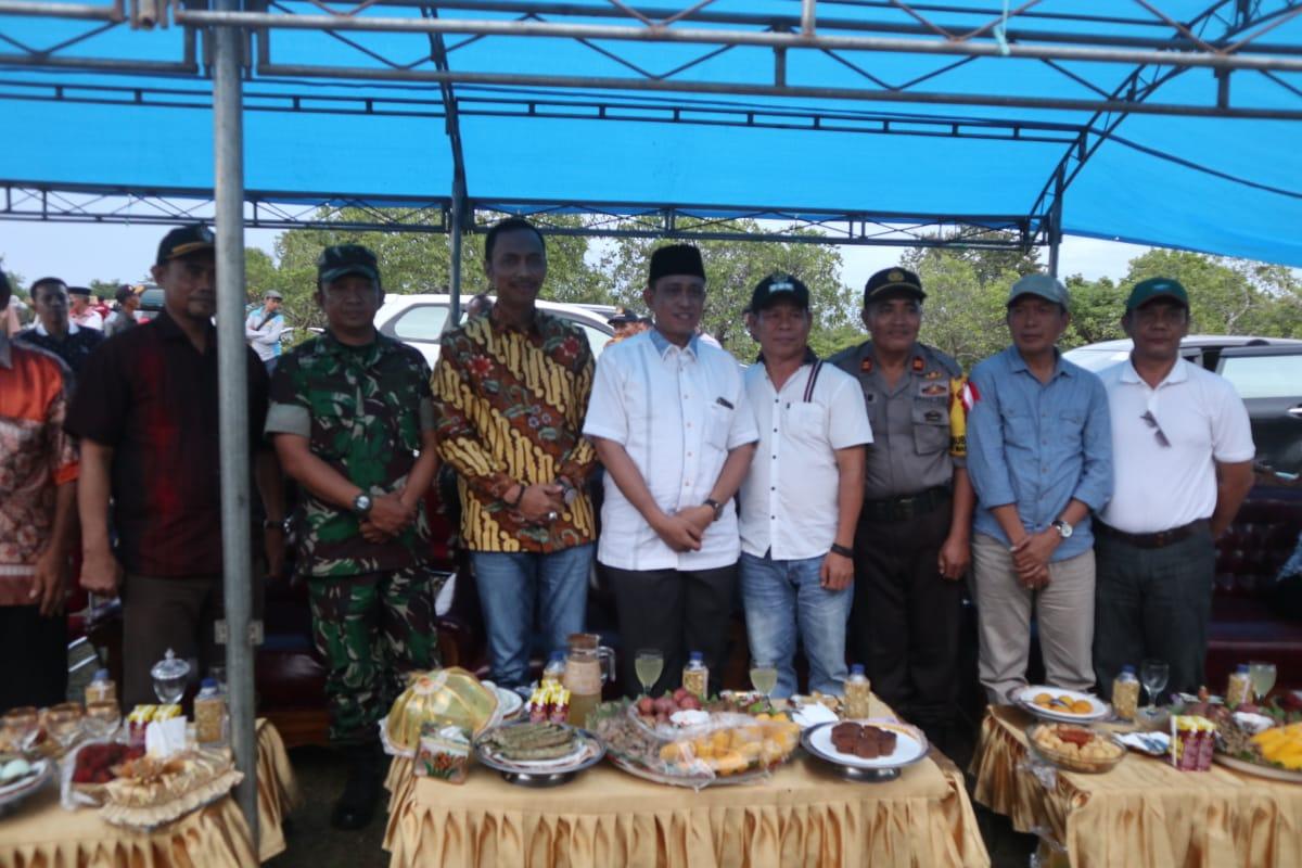 Hari Pertama Menjabat, Bupati Amran Mahmud Tinjau Kawasan Pertanian Terpadu
