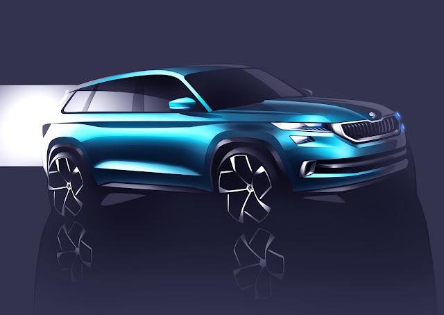 Škoda VisionS SUV Design Study