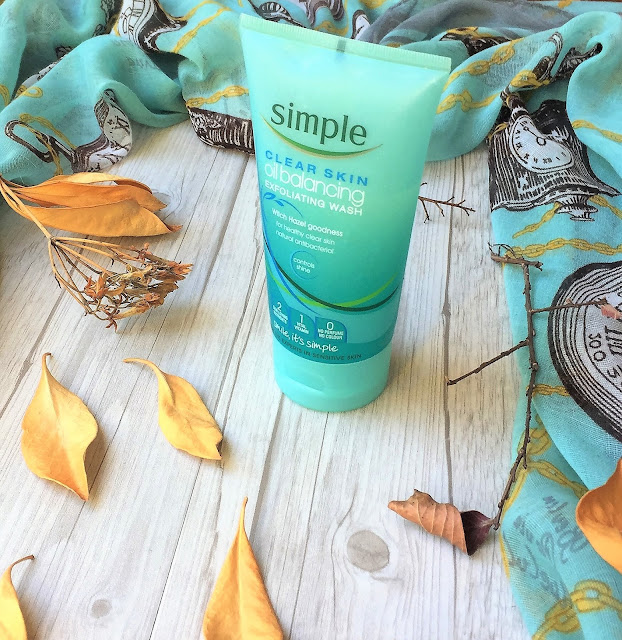 Clear Skin Oil Balancing Exfoliating Wash by Simple #13