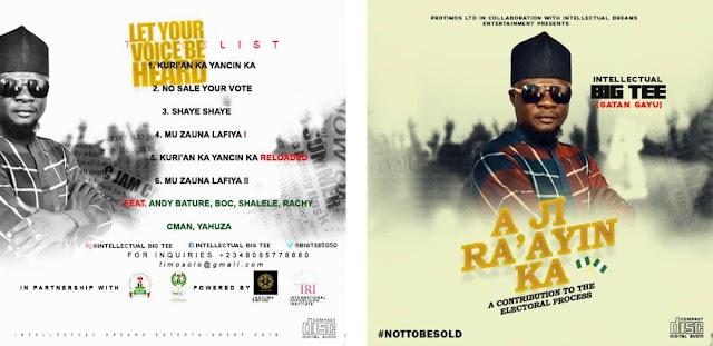 #ALBUM: INTELLECTUAL BIGTEE- A JI RA'AYIN KA (GATAN GAYU)
