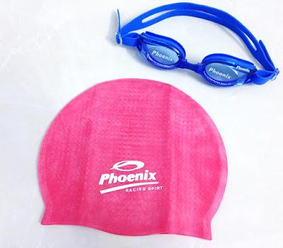 mũ bơi trẻ em phoenic