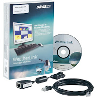 Jual WeatherLink Merk Davis 6555 Data Logger & Software