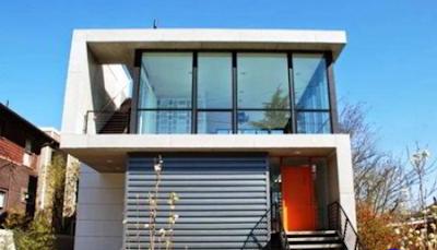 rumah bergaya modern sederhana