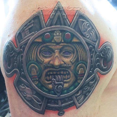 tatuajes aztecas y mayas y su significado
