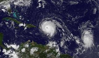 وفاة شخصين علي الاقل حصيلة إعصار إيرما بعد اجتياحه منطقة البحر الكاريبي