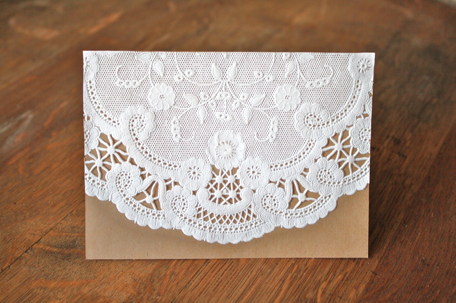 Paper Doily Invitations