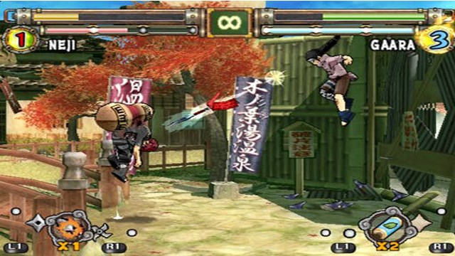 Download Naruto Ultimate Ninja 2 PC Gameplay