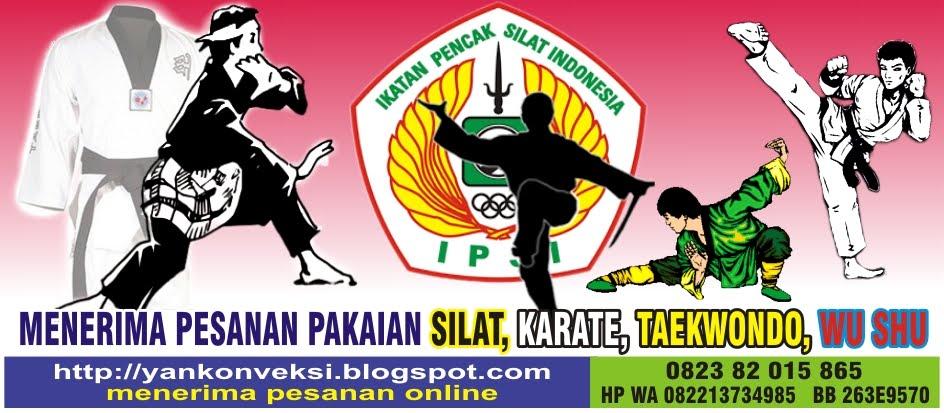 PAKAIAN SILAT KARATE INDONESIA  PAKAI SILAT KARATE TAEKWONDO JUDO b5c0dd856c