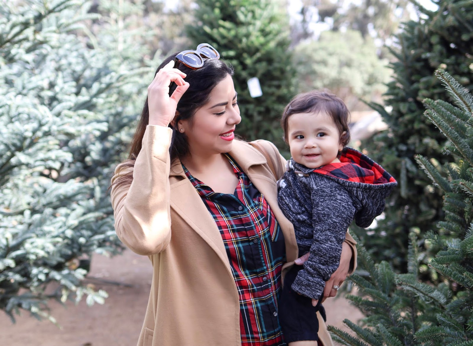 Christmastime Baby and I, How to dress up baby during the holidays