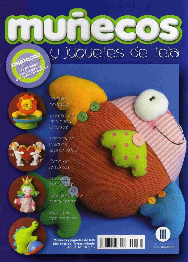 Muñecos y Juguetes de Tela Nro. 18