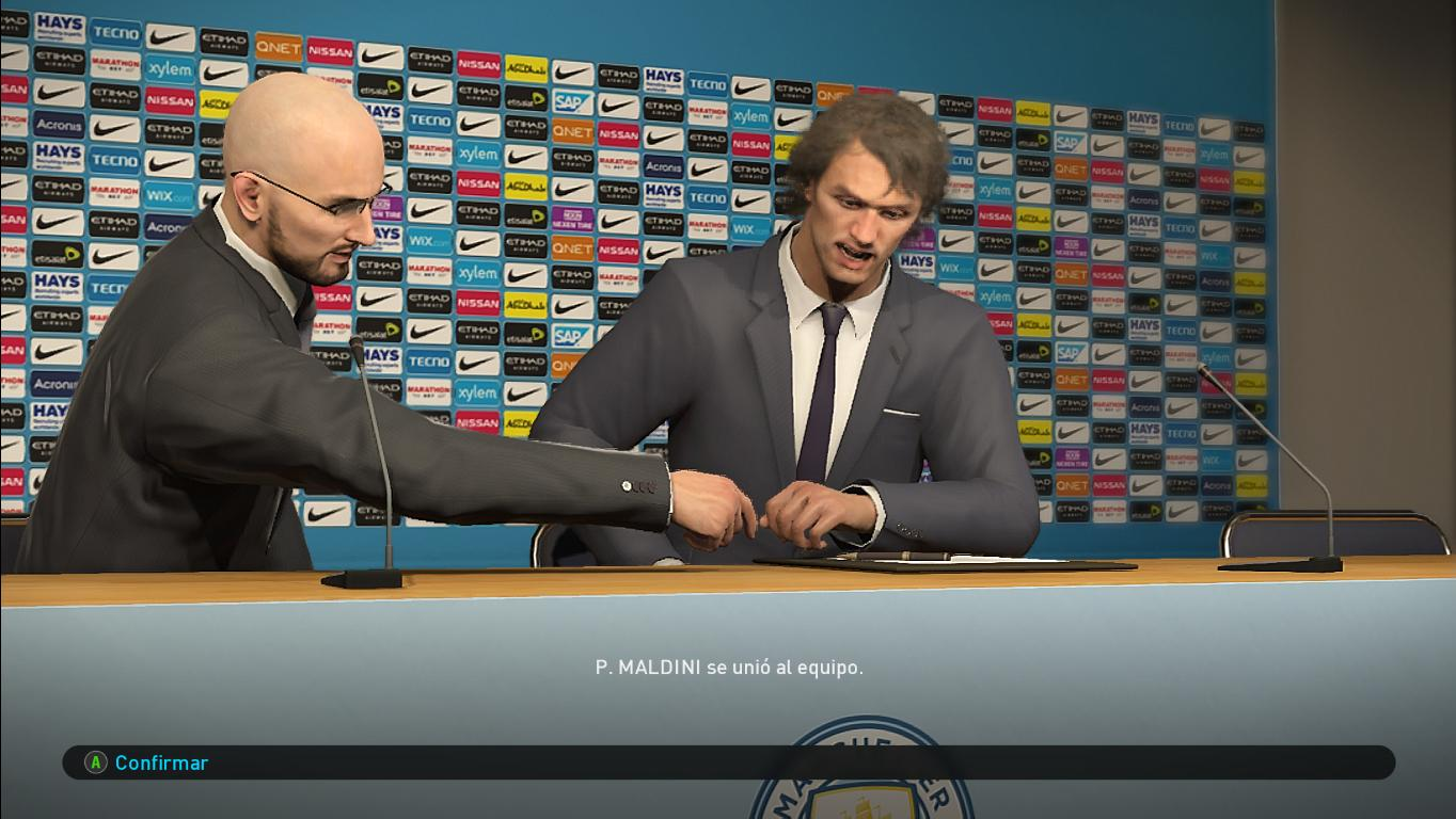 PES 2019 Manchester City Press Room by Ivankr Pulquero