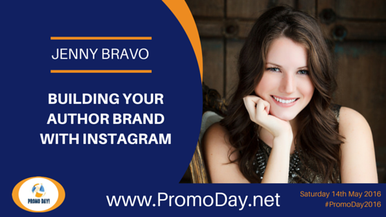 Jenny Bravo to Present Webinar at #PromoDay2016 Register now at www.PromoDay.net @BlotsandPlots