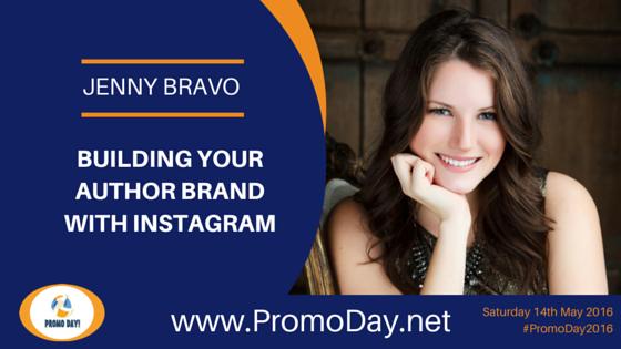 Jenny Bravo to Present Webinar at #PromoDay2016 Register now at www.PromoDay.net @BlotsandPlots