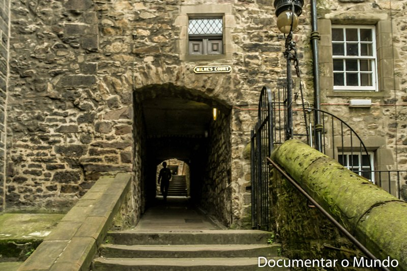 Closes, Royal Mile; Edimburgo