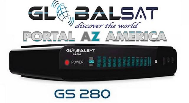 Resultado de imagem para GLOBALSAT GS280 PORTAL AZAMERICA