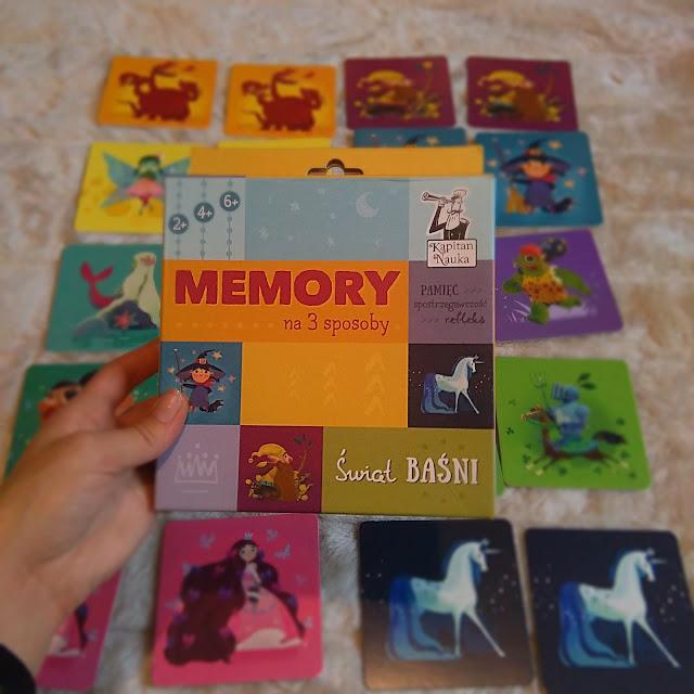 memory na trzy sposoby kapitan nauka swiat basni, recenzja, opinia, gry dla dzieci, najlepsza gra, dla dwulatka dwulatki