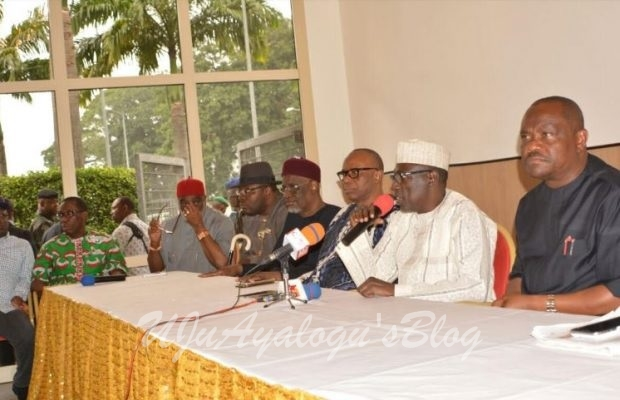 PDP Crisis: Makarfi calls for emergency meeting over Sheriff's victory