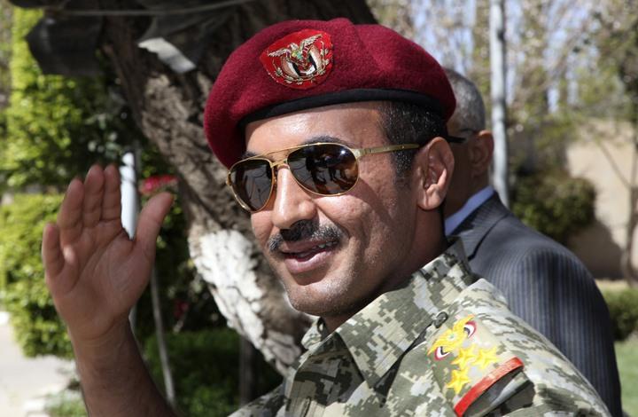 أحمد علي عبدالله صالح يرفض جثة والده أو الدعوة بالثأر له لكنه يتقدم بهذا الطلب