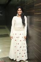 Megha Akash in beautiful White Anarkali Dress at Pre release function of Movie LIE ~ Celebrities Galleries 060.JPG