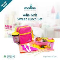 Dusdusan Adia Girls Sweet Lunch Set ANDHIMIND