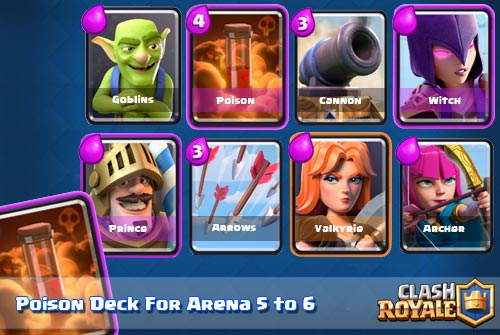Poison Deck Arena 5 to 6