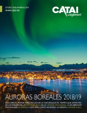 Catálogo viajes Catai Auroras boreales 2019