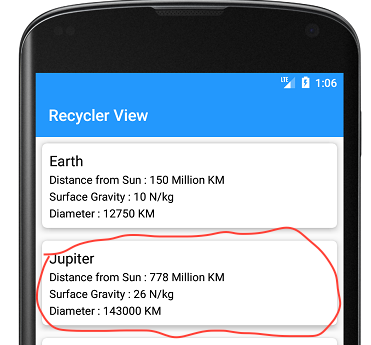 Recyclerview Nested Scrolling