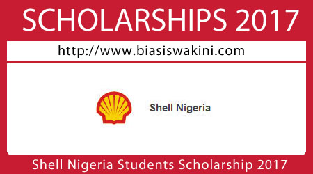 Shell Nigeria Students Scholarship 2017