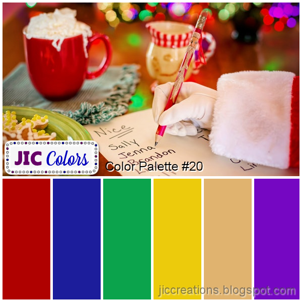 Five No Fail Palettes For: JIC Creations: February 2019
