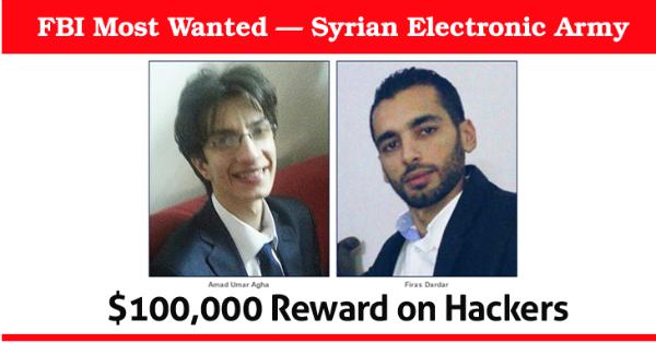 السلطات الأمريكية ترصد مكافأة مالية ضخمة للقبض على هاكرز سوريين