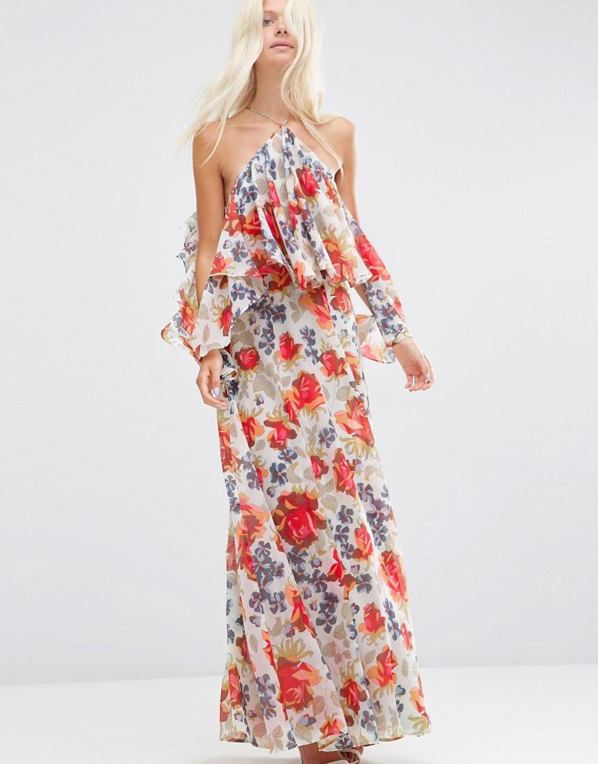 1987087683d0 Abiti lunghi e floreali  cosa c è di più estivo di un abito lungo con  stampa floreale  Sceglietelo nei colori chiari e vivaci tipici dell estate  e ...