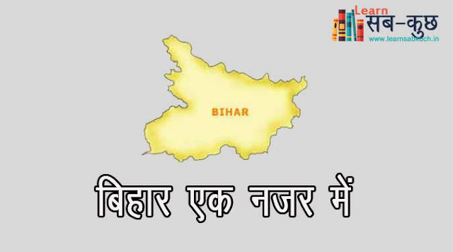 Brief Information of Bihar