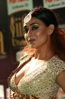 Apoorva Spicy Pics in Cream Deep Neck Choli Ghagra WOW at IIFA Utsavam Awards 2017 62.JPG