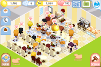 iPhone Game App - Bakery Story