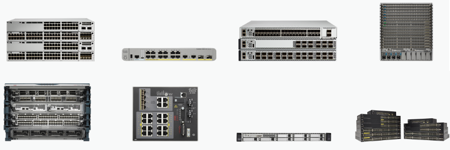 Cisco, Network Equipment Resource: Compare Cisco Switches to