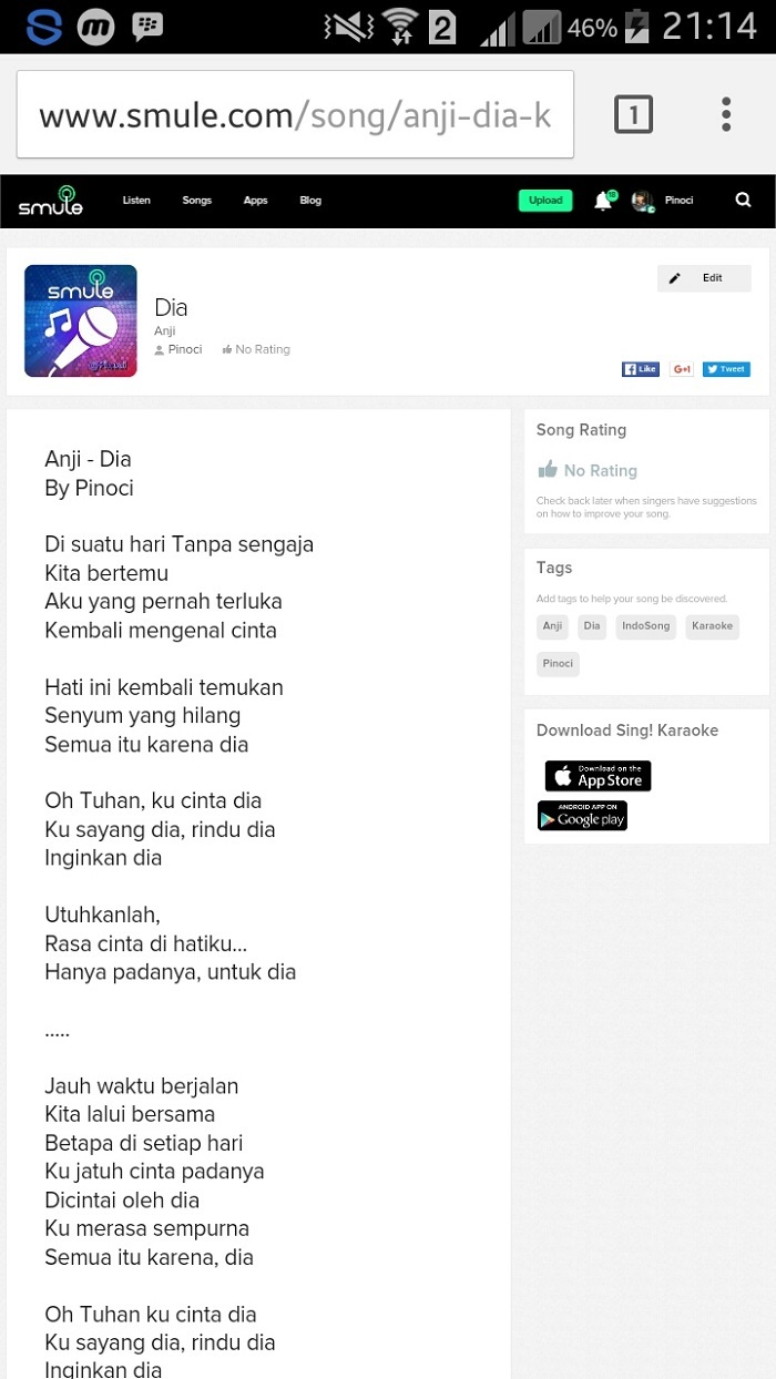 Smule Upload Lagu SongBook Android