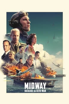 Capa Midway – Batalha em Alto-Mar Torrent – BDRip 1080p Dual Áudio (2019) Download