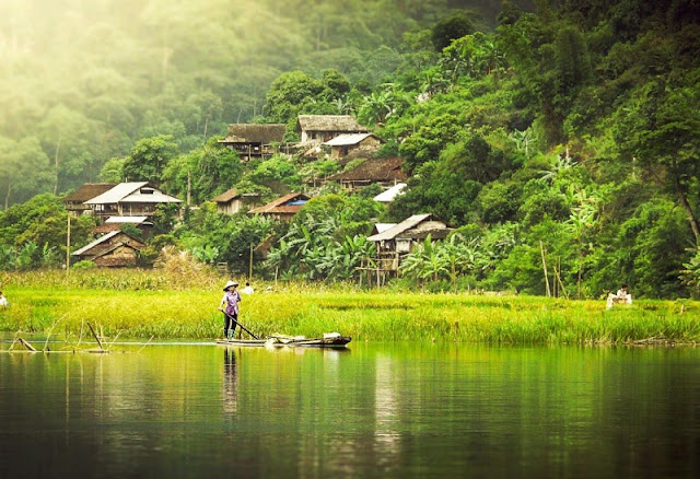 Pac Ngoi, a cultural village in Bac Kan famous for homestay tourism 1