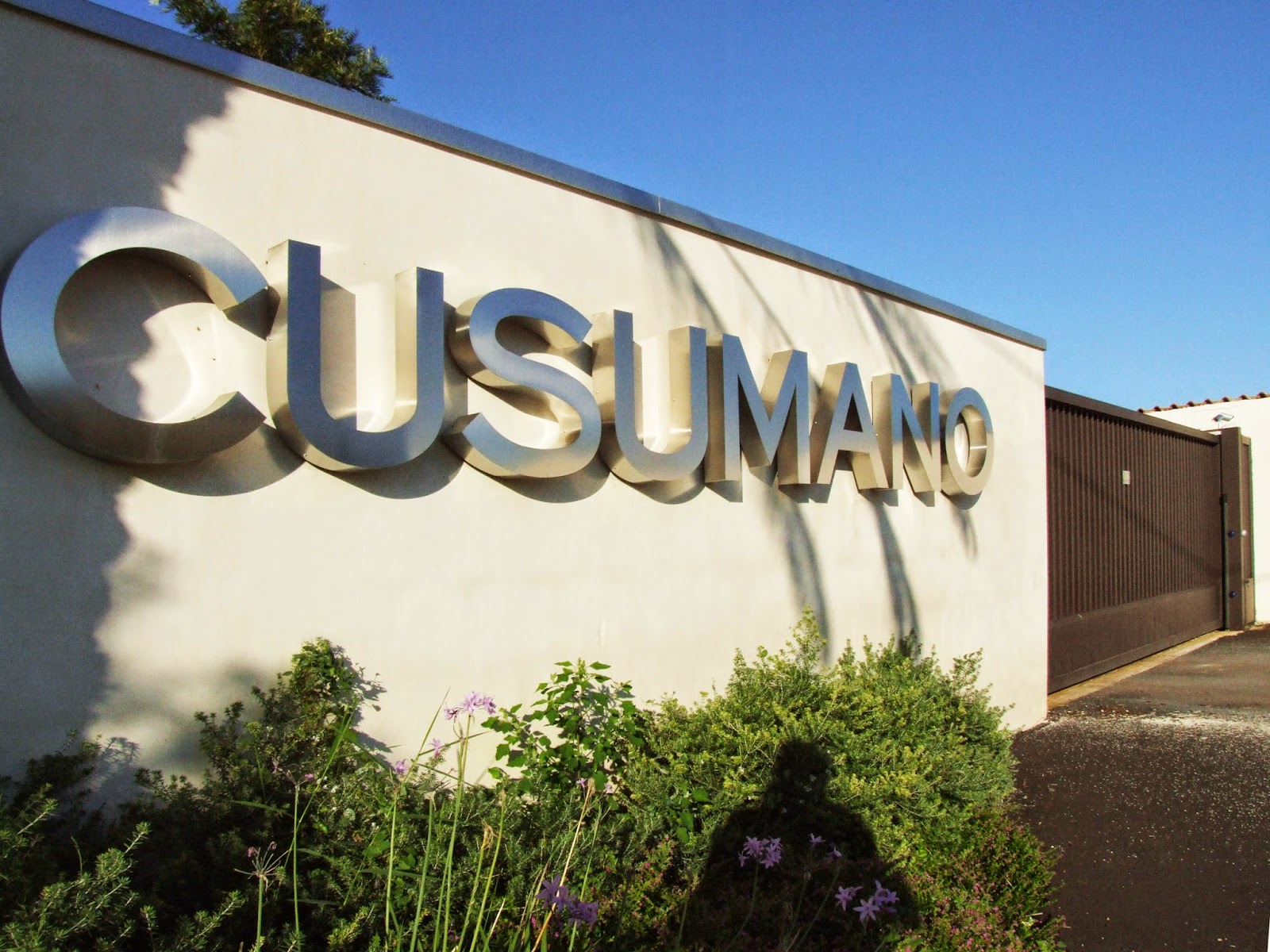 Cusumano winery in Sicily