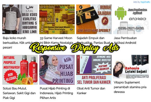 RajaTraffic, Penyedia Layanan Iklan CPM Untuk Publisher Blog Indonesia