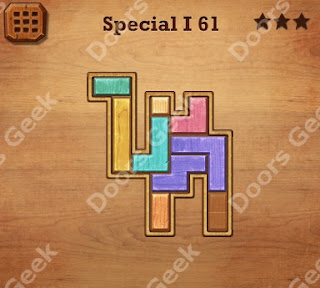 Cheats, Solutions, Walkthrough for Wood Block Puzzle Special I Level 61