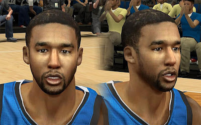 NBA 2K13 Malcolm Lee Cyberface Patch