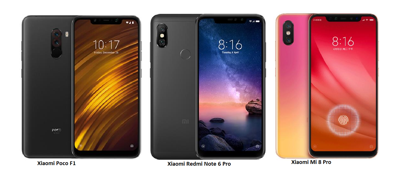 Tspn1 Xiaomi Redmi Note 6 Pro Vs Poco F1 Mi 8 3 32 Gb Gold The Comes With 4 Of Ram And 64 Internal Memory Which Can Be Expanded Via Microsd Boasts