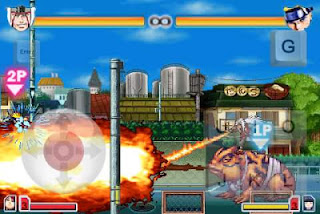 Game Android naruto Battle