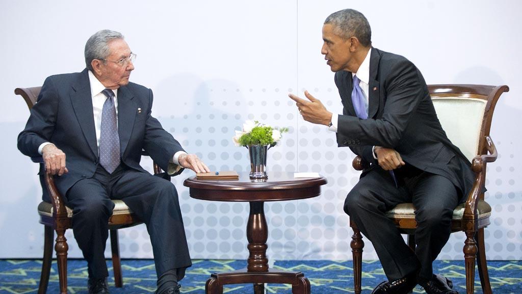 Raul Castro dan Barack Obama