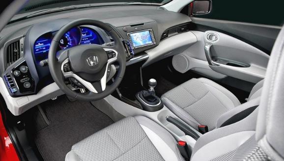 2017 Honda CR-Z Interior