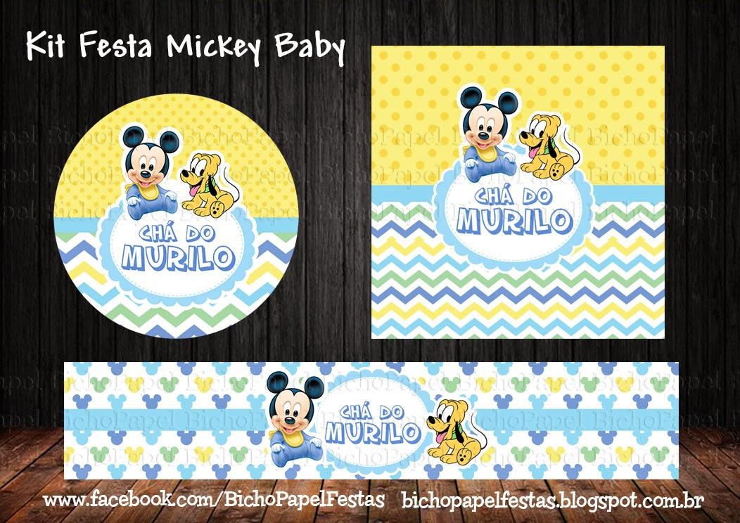 Kit Festa Mickey Baby