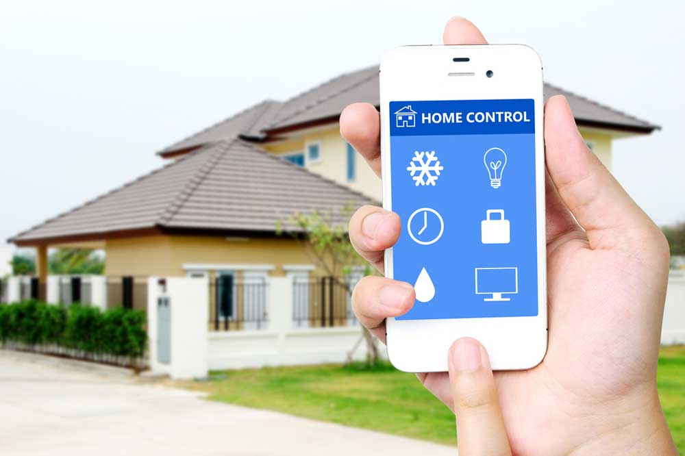 Turn Your Smart Phone Into a Home Security System