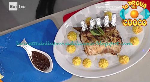 Carré di maiale alle prugne ricetta Messeri da Prova del Cuoco